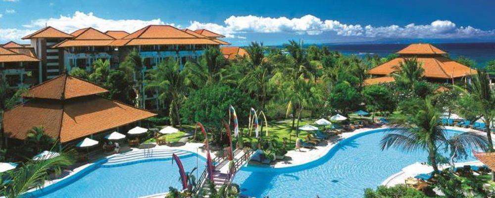 阿优达度假村  】 度假村位于巴厘岛最好的度假胜地之一,五星酒店云集